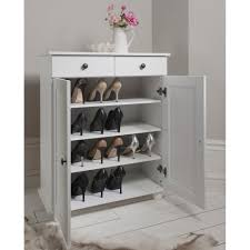 Beautiful Heathfield Shoe Storage Unit In White Shoe Cabinet Part 20