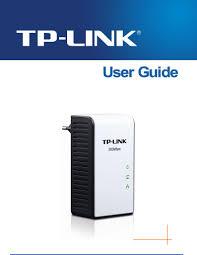 Tp Link 500mbps Powerline Adapter Lights Tp Link Tl Pa511 User Manual