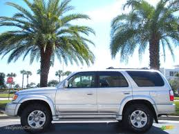 2002 Toyota 4Runner Limited in Millennium Silver Metallic - 229822 ...