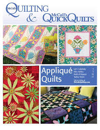 Free Applique Quilt Patterns - The Quilting Company & Whether your favorite appliqué technique is fast fusible web or traditional  needle-turn (or anything in between!), the 4 appliqué patterns gathered in  this ... Adamdwight.com