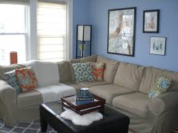 Fresh Tangerines Living Room Interesting Blue Living Room Color ...