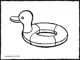 Eend Zwemband Kiddicolour