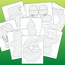 There are 629 suppliers who sells kids stampers on alibaba.com, mainly located in asia. 15 Free Christmas Dot Marker Printables No Prep Activity For Kids The Artisan Life