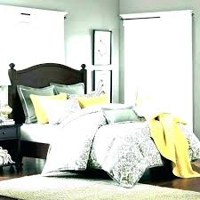 grey yellow bedding mustard and grey bedroom gray yellow bedding comforter set medium size of white