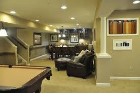 Basement Remodeling Baltimore Model Interior