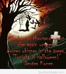 cute funny tonight is halloween quote