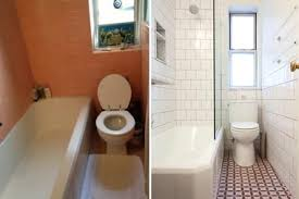 bathroom renovations cost. The Before And After Photos Of One Pepper Binkley\u0027s Bathrooms, Which She Renovated Using Bathroom Renovations Cost