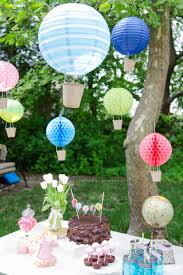 hot air balloons made from paper lanterns such a neat idea love this whole