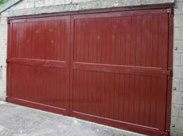 softwood garage doors painted