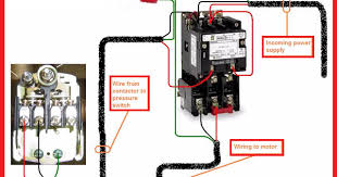 single phase contactor wiring diagram Motor Wiring Diagram Single Phase electrical page single phase motor contactor wiring diagram motor wiring diagrams single phase ccw and cw