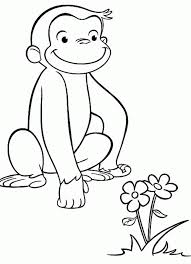 curious george coloring pages curious george coloring pages images