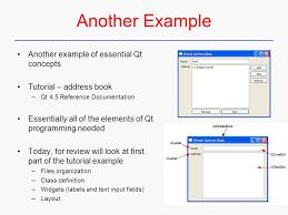 Qt – Dialog C++ Gui Programming With Qt 4 Qt 4.5 Reference ...