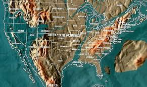 Elevation Chart Us The Shocking Doomsday Maps Of The World And The Billionaire