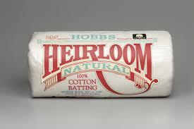 Heirloom® Premium 100% Natural Cotton - Hobbs Quilt Batting Hobbs ... & Heirloom® Premium 100% Natural Cotton Adamdwight.com