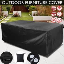outdoor sofa cover. Patio Garden Outdoor Furniture Rain Cover Waterproof Wicker Sofa Set Protection N