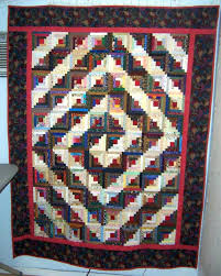 Log Cabin Quilts Photo Gallery and Layout Tips & Spiral Log Cabin Quilt Adamdwight.com