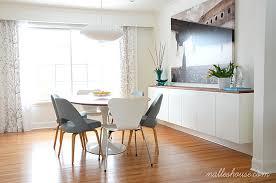 Nalle S House Diy Floating Sideboard Avec Dining Room 2 Et Ikea Hack