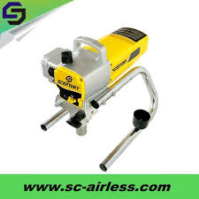china portable high pressure electric airless wall spray paint machine for st 6450 china electric airless paint sprayer sprayer