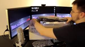 tig review fleximounts loctek dual monitor desk mount installation you