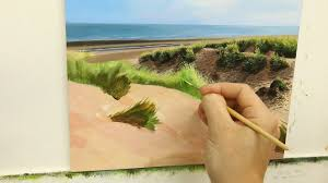 41 how to paint sand dunes part 2 oil painting tutorial you