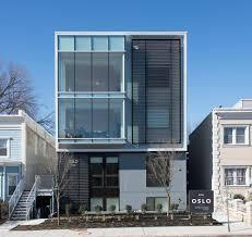 Floor Plans  Unit Apartment Building Plans Row House Floor Plans - Modern apartment building facade