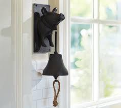 vintage blacksmith wall mount pig