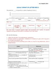 Templates For Various Letters Of Authority And Project Registration