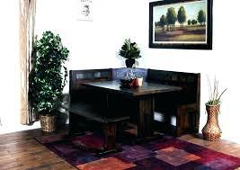nook furniture. Corner Breakfast Nook Table Set Furniture Dining Room Amish Trestle A