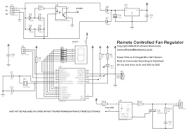 avr project remote controlled ac fan regulator using avr schematic