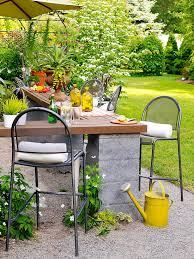 Cheap outdoor furniture ideas Affordable Outdoor Kitchen Better Homes And Gardens Cheap Backyard Ideas