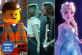 A celebration of the most creative promos from the last 10 years. Shallow Let It Go The Best Songs From Movies Of The 2010s Ew Com