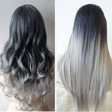 28 Albums Of Ash Gray Hair Color Ombre Explore Thousands