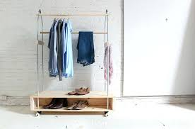 closet rack homemade modern garment rack options closet rod height ada closet racks