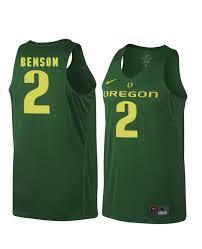 Men's Nike Oregon Ducks 2 Casey Benson Authentic Green Jersey