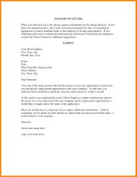 10 Sample Resume Follow Up Letter Azzurra Castle Grenada