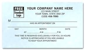Doctor Appointment Card Template Patient Appointment Card Template Free Reminder Postcard