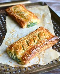 spinach with feta and ricotta puff pastry rolls by picturetherecipe