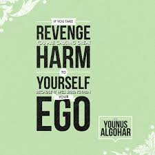 Self Harm Quotes Simple The Official MFI Blog Quote Of The Day If You Take Revenge