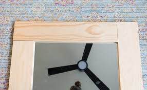 diy mirror frame. Brilliant Mirror DIY Wood Framed Mirror Tutorial Pertaining To Diy Frame Design 4 In O