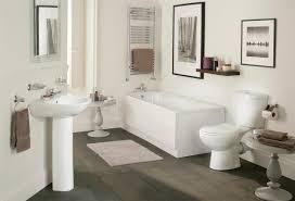 Bathroom Suites Ebay Galaxy Modern Bathroom Suite White Bath Toilet Sink Basin Pedestal