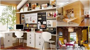 Nice home office design ideas Office Space 30 Brilliantly Beautiful Shared Home Office Ideas For Your Household Homesthetics 30 Brilliantly Beautiful Shared Home Office Ideas For Your Household