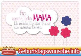 Geburtstagswünsche Für Mama Wünsche Zum Geburtstag