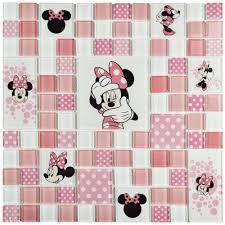 disney minnie pink 11 3 4 in x 11 3 4