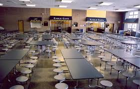 high school lunch table. Kennedy High School: Lunchroom East/west School Lunch Table