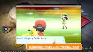 Pokémon Let's Go Pikachu Download Link Yuzu Emulator for WIN10 PC - YouTube