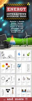energy interactive notebook pages journal topics kinetic energy  energy interactive notebook pages