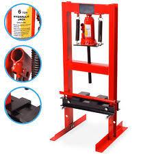 6 ton 6000kg heavy duty hydraulic garage work floor standing press kit