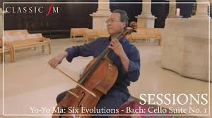 <b>Yo</b>-<b>Yo Ma</b> - <b>Six</b> Evolutions | Bach: Cello Suite No. 1 | Classic FM ...