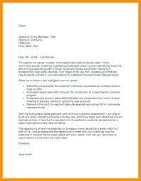 Sample Cover Letter Sales Executive Sample Cover Letter For Sales