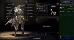 monster hunter world how weapon